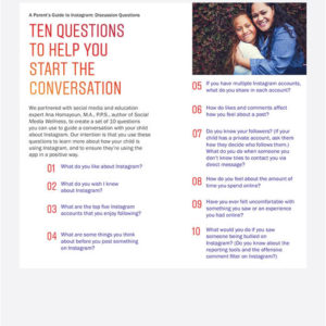 Preview of 10 questions to help you start the conversation