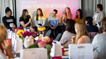 Netsafe's YAS attended the launch of the 2019 Instagram guide for parents