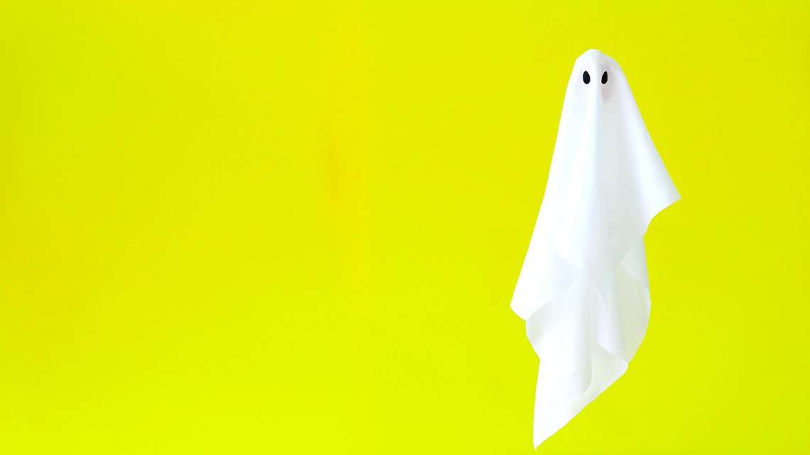 ghost on snapchat bright yellow