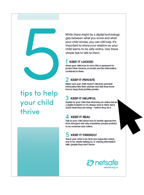 Summary of the five tips in a PDF format