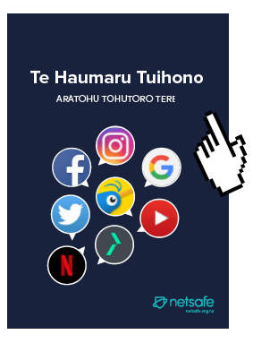 Maori version of the Staying Safe Online Guide