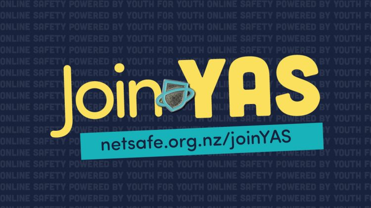An image with the words join YAS