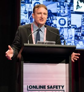 Martin Talking at the Online Safety on the Edge Conference
